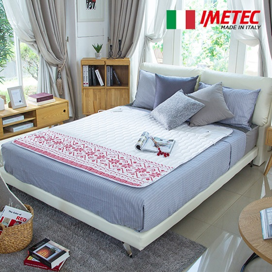 Italian home appliance brand Imetec saw sales rise by 629 percent in September compared to September 2015, mainly driven by the soaring popularity of its electric blanket. (image: Imetec)
