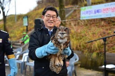 """Natural Monument"" Birds Released Back to Nature"