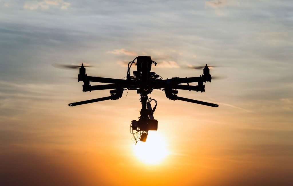 """The government will continue to develop new business areas that can utilize drones while supporting the overall development and commercialization of the drone industry through deregulation."" (image: KobizMedia/ Korea Bizwire)"