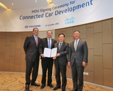 Hyundai Motor Signs MOU to Jointly Develop Connected Car with China