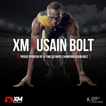 Usain Bolt becomes XM's Official Ambassador