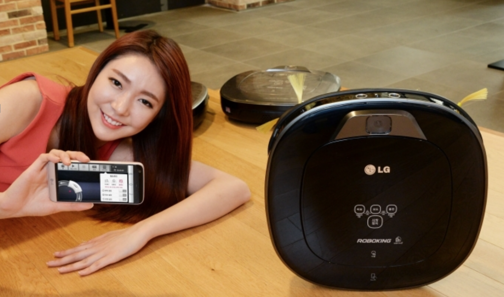 LG's R75BIM was selected as the best of the five, receiving three stars in cleaning performance and noise, and two stars for autonomous mobility. (image: LG Electronics)