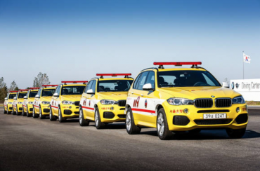 BMW Donates X5s to Seoul Fire Departments