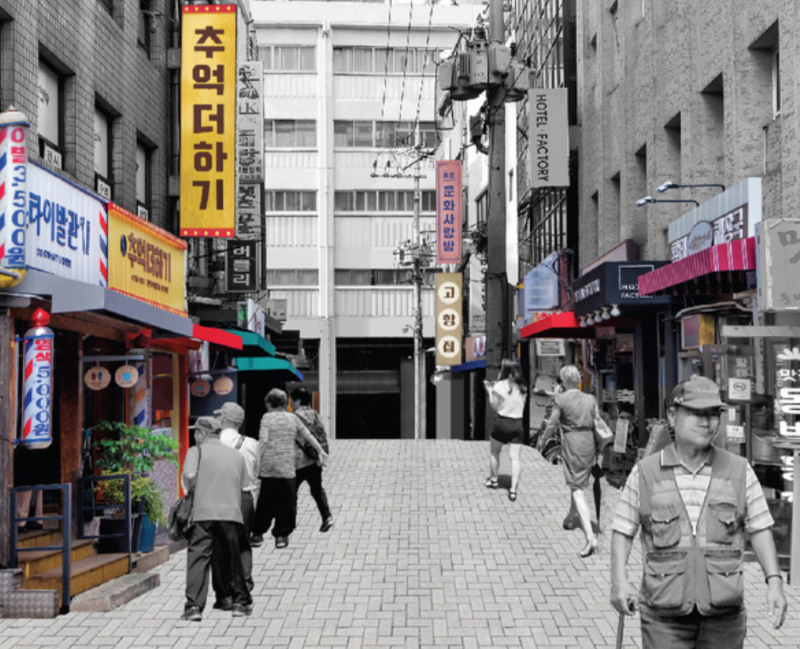 Seoul Street Remodeled to Better Serve Aging Population