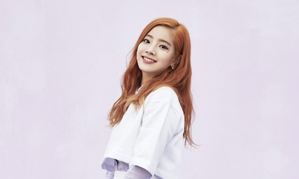 Dahyun of girl group TWICE (image: JYP Entertainment)
