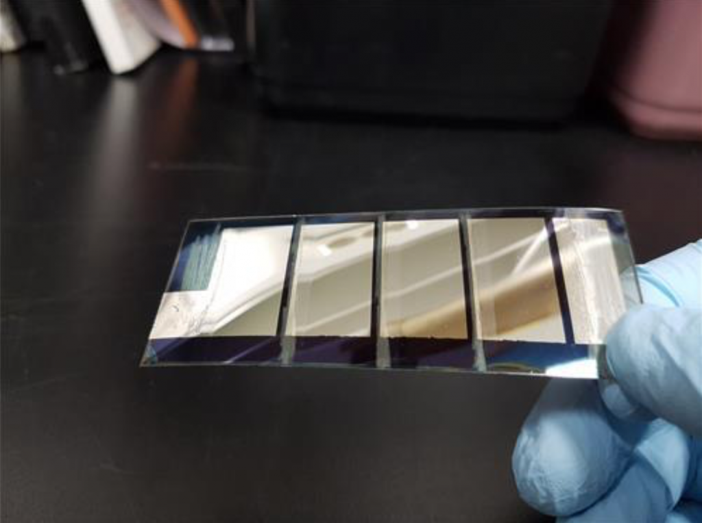 """""""This is the first time for anyone to successfully use graphene to increase the area of solar cells,"""" said KIST Dr. Joh Han-ik. (image: KIST)"""