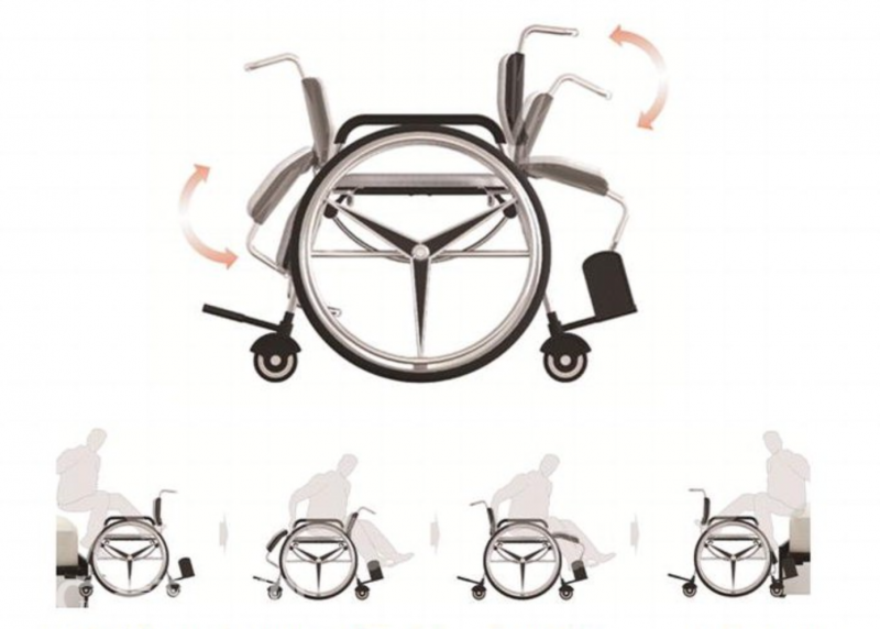 Bi-Direction Wheelchair Wins Idea Competition