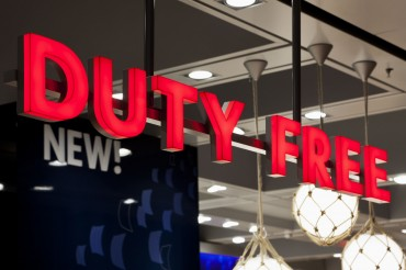 Cosmetics Products Drive up Duty-Free Sales