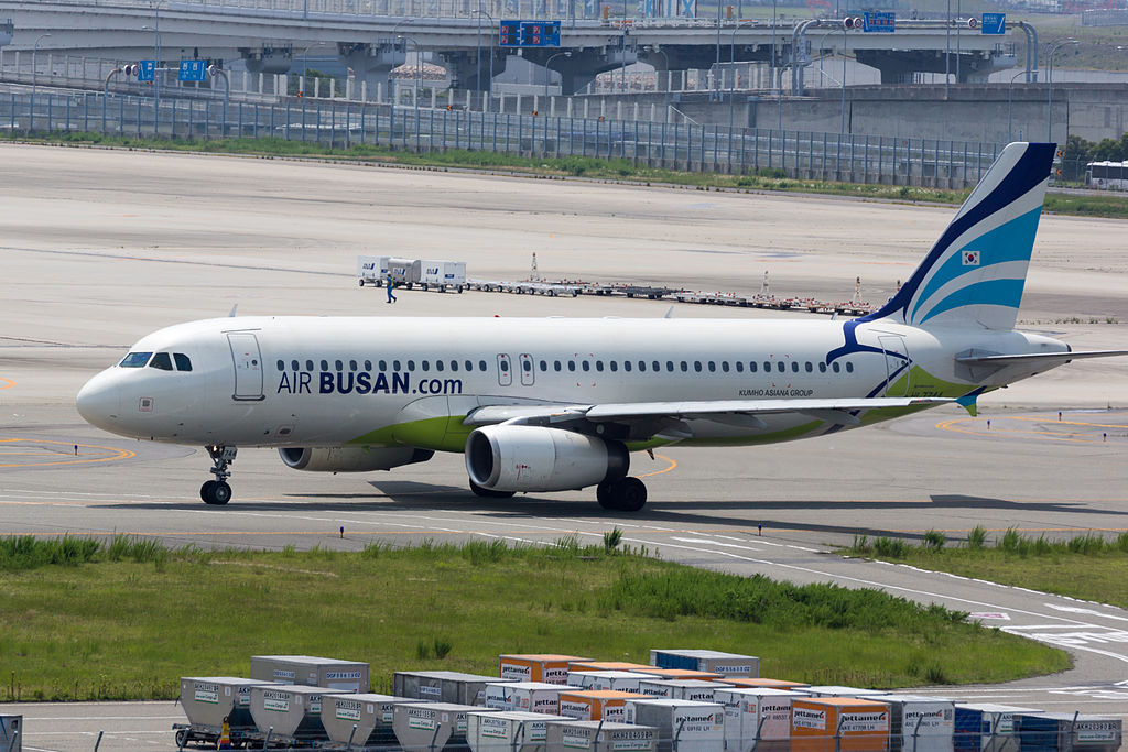 To offset declining demand on routes to and from China, Air Busan will open a route between Daegu and Tokyo on June 8, while increasing flights on the existing routes between Daegu and Osaka and Sapporo. (image: Wikimedia)