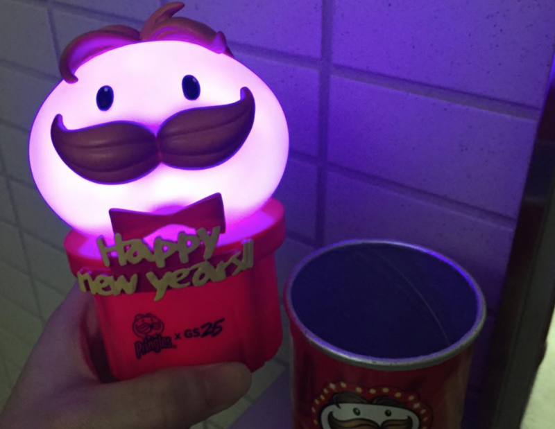 Limited Edition Pringles Come with Glowing Mr. P