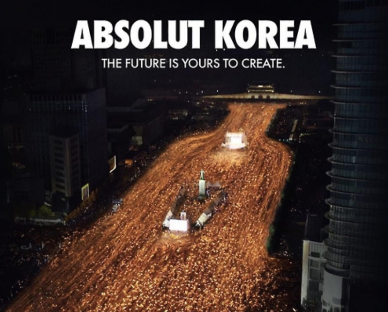 Absolut Vodka Ad Showing Anti-Gov't Rally Stokes Controversy