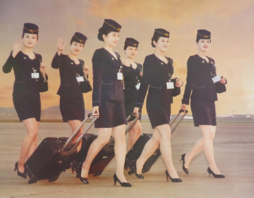 Air Koryo Flight Attendants Featured on 2017 Calendar