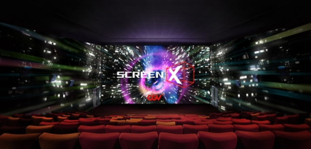 Since its launch in December 2012, ScreenX technology has been adopted for a total of 15 Korean and Chinese films. But this would the first commercial Hollywood title that adopts the technology. (image: Yonhap)