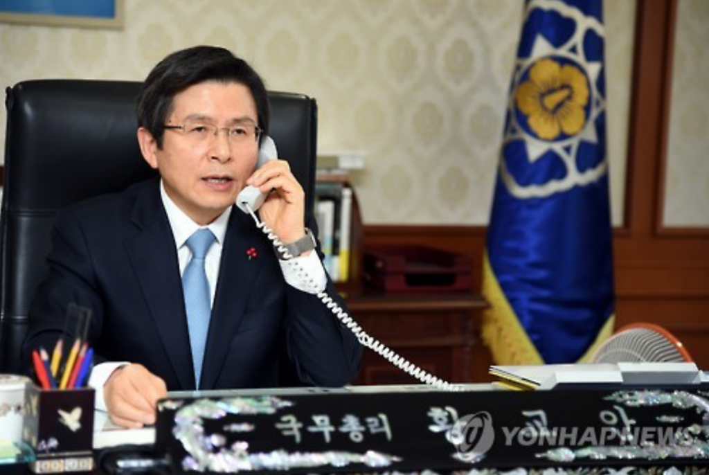 Haines reiterated the U.S. commitment to improving the Korea-U.S. alliance and to working with South Korean Prime Minister Hwang Kyo-ahn, who took over as acting president following the impeachment of President Park Geun-hye last Friday. (image: Yonhap)