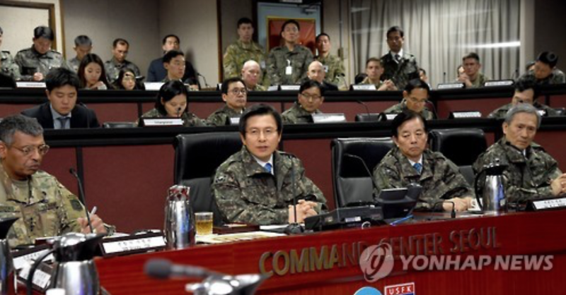 Acting President Visits Korea-U.S. Alliance Command