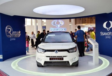 Ssangyong Motor Enjoys Hefty Sales in Sanctions-Free Iran