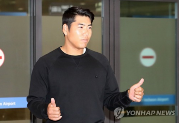 Major Leaguer Kang Jung-Ho Booked for Leaving Scene of DUI Accident