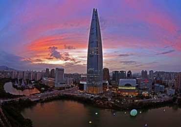 Korea's Tallest Building Highlighted by Photographers
