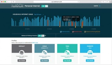 Nominum Personal Internet Provides Peace of Mind as an Effective, Easy-to-Use Cloud-based Digital Parenting Tool