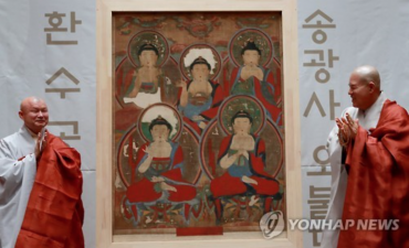 Stolen Buddhist Painting Returned from U.S.