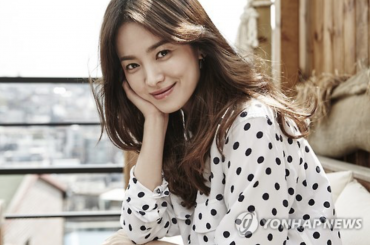Actress Song Hye-Kyo Donates Compensation Money to Charity