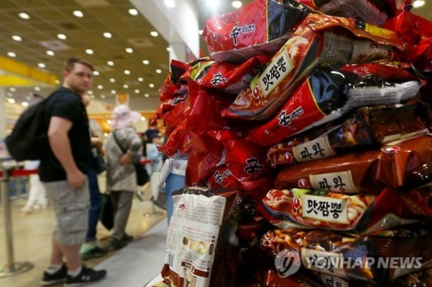 Ramyeon Exports Nearly Triple over Past Decade