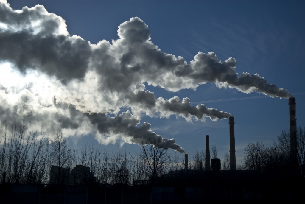 Under the country's greenhouse gas emissions trading system (ETS) launched in January 2015, some 600 local companies are given their own Korean allowance units (KAUs) to buy extra emissions rights when they surpass their own quota. (image: KobizMedia/ Korea Bizwire)