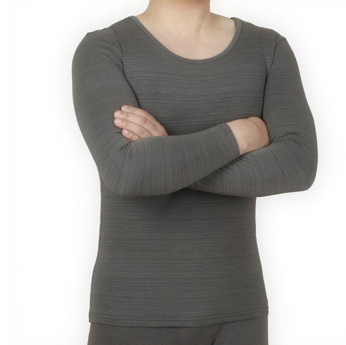 This photo shows long johns with heat-generating fabric made by ReTend Co. (image: ReTend)