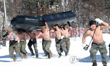 Korean, U.S. Marines Team Up for Winter Training