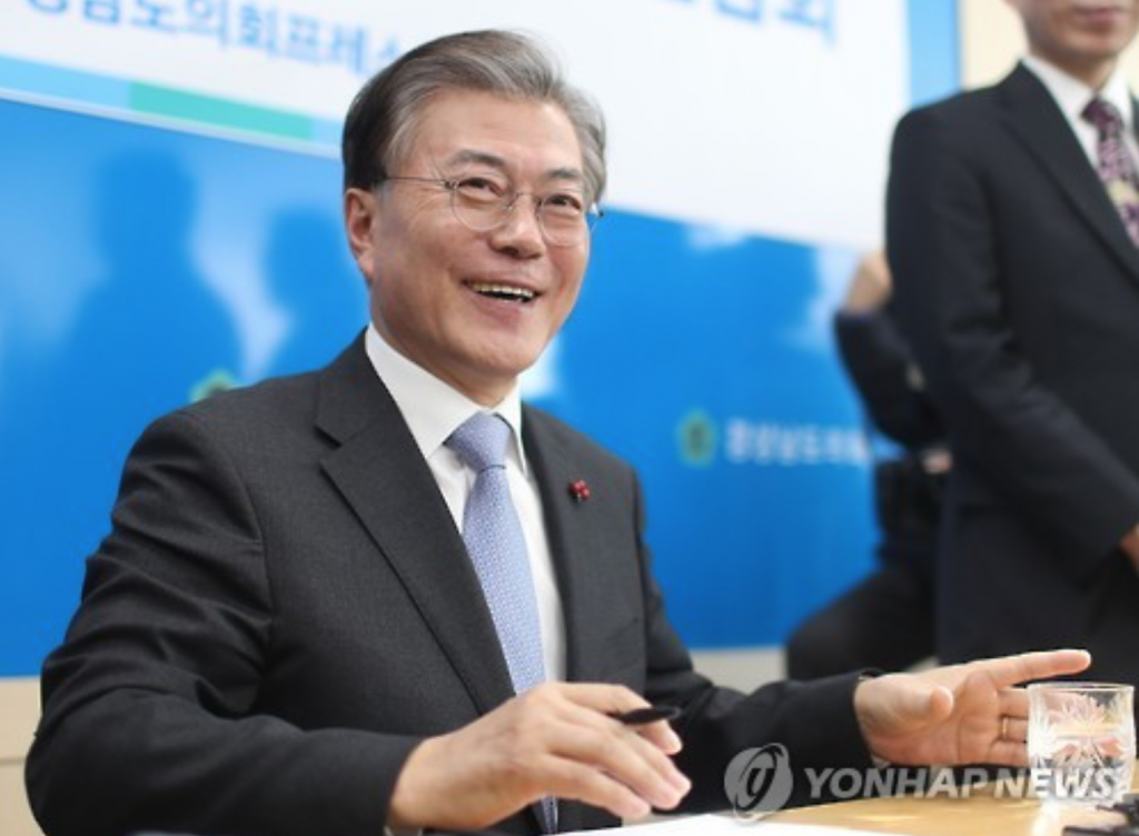 """The NIS has been fabricating spies, conducting surveillance on the people and unlawfully meddling in elections. It has even penetrated deeply into domestic politics,"" Moon claimed. (image: Yonhap)"