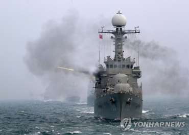 First Show of Force for Korean Navy in 2017