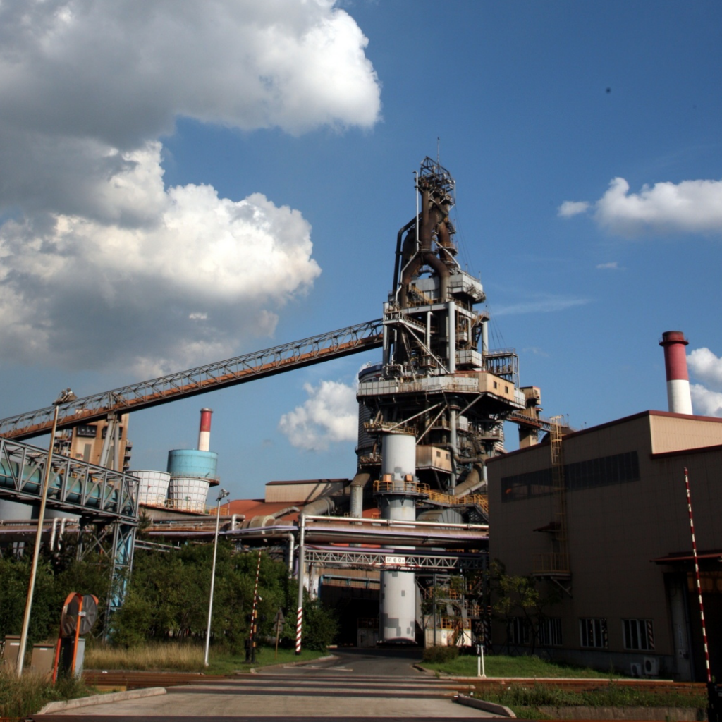 The furnace has been producing an annual average of 1.3 million tons of iron mold. (image: POSCO)