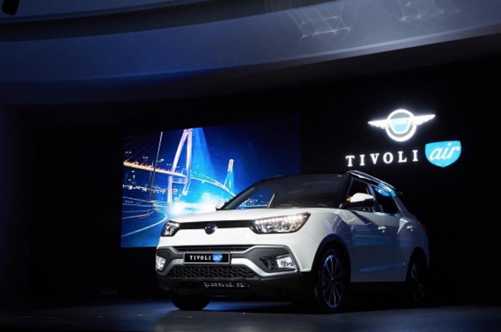 Ssangyong Motor's small SUV, the Tivoli Air. (image: Ssangyong Motor)