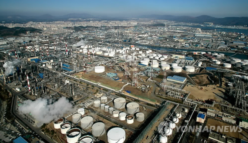 Ulsan's Industrial Complex Suffers amid Economic Slump