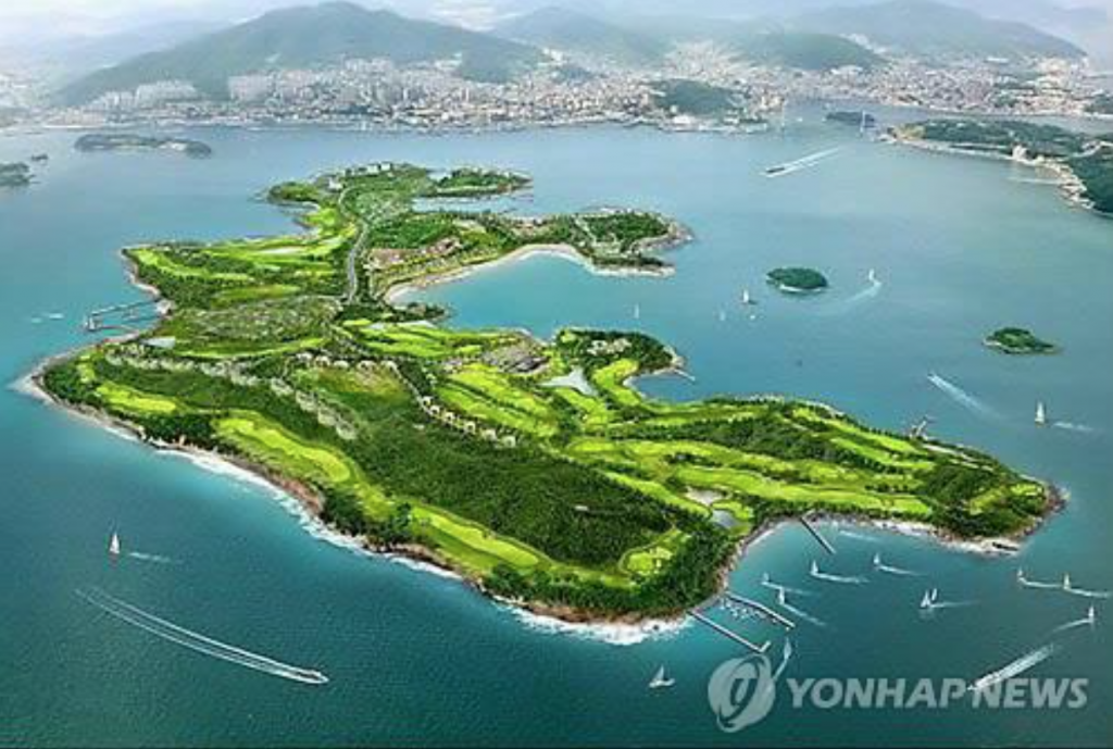 The investment totaling some 1 trillion won would be the largest investment in the tourism and leisure sectors in the southern part of the country, officials said. (image: Yonhap)