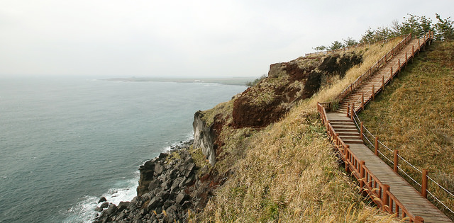 An Olle Trail in Jeju Island. (image: Flickr/ Republic of Korea)