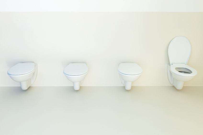 Although using the restroom once or twice may go unnoticed by many, prolonged exposure to the condition can decrease quality of life. (image: Korea Bizwire)