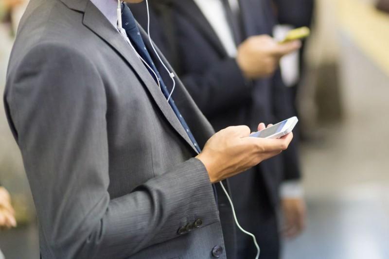 Smartphones Ubiquitous on Public Transportation