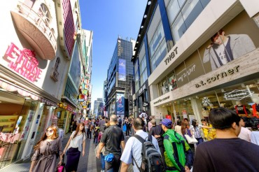 Chinese Tourists to S. Korea Significantly Decrease During Holiday