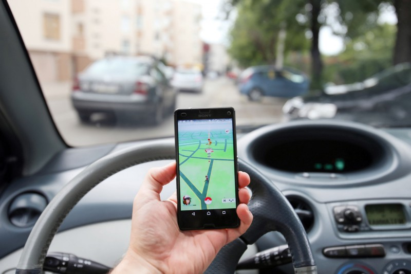 Police Crackdown on Pokémon GO Drivers