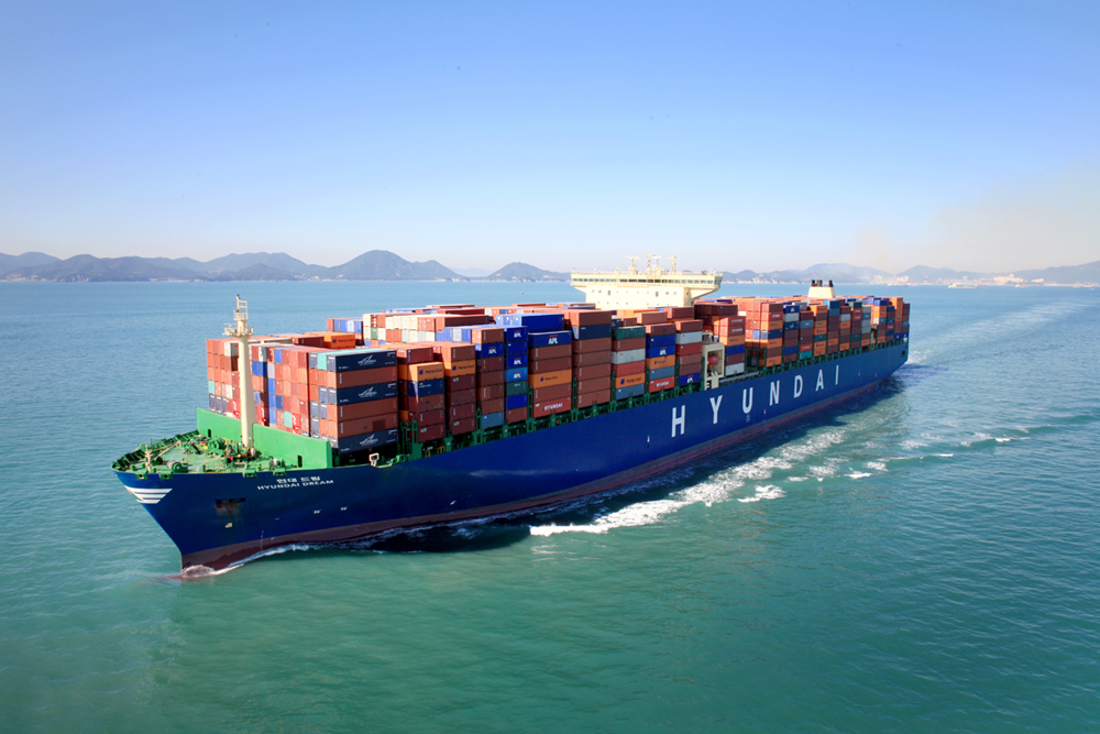 Under the local alliance, Hyundai Merchant uses 850 TEUs per week on routes to Vietnam, Thailand, the Philippines and three other routes currently operated by its two partners, while the two shipping firms will be able to share 995 TEUs on Hyundai Merchant's five routes, including the one to Vietnam and Thailand. (image: Wikimedia)