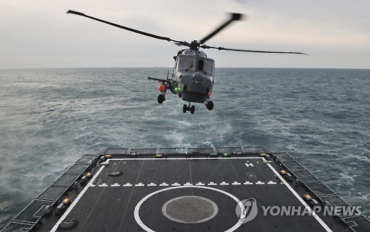 Korean Navy Deploys Four Wildcat Choppers