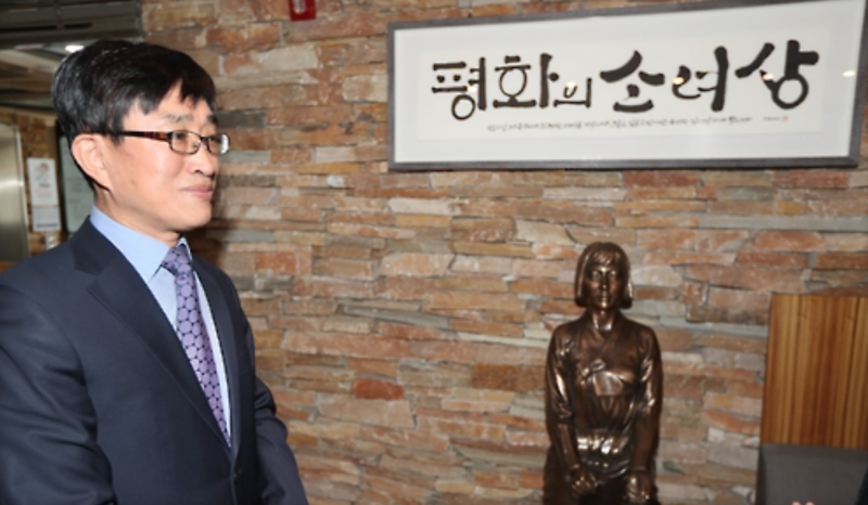 First Privately Funded Comfort Woman Statue Erected in Korean Hospital