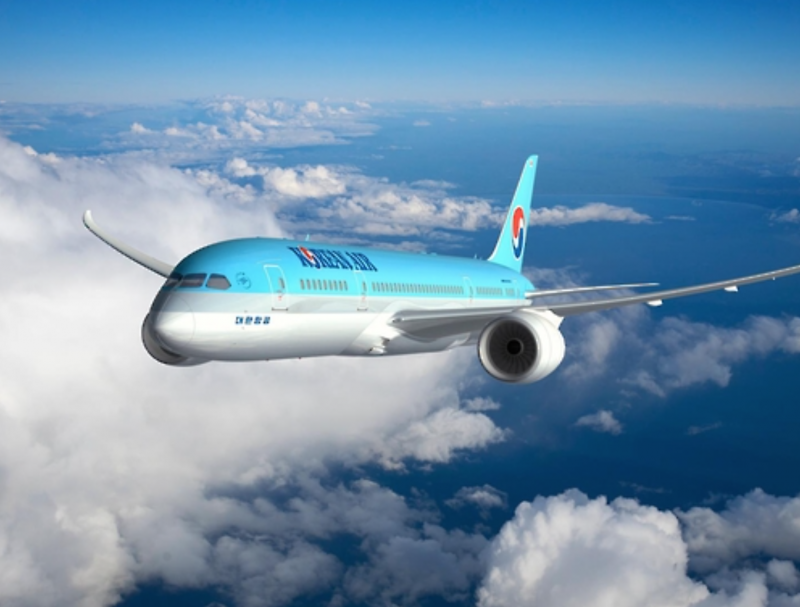 Korean Air Launches Boeing 787-9 Dreamliner on Domestic Route