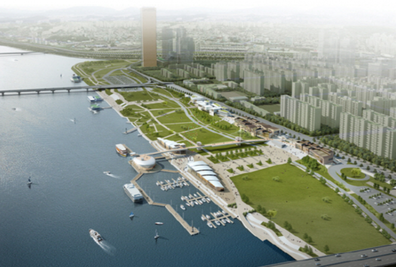 New Waterside Park Coming to Seoul's Han River