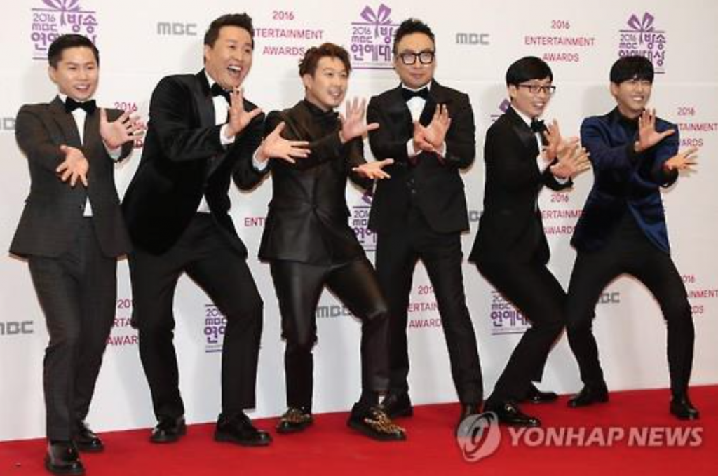 "The Saturday evening program entered a seven-week hiatus on Jan. 28 to ""take time for reorganization."" The ""golden timeslot"" is being substituted with a four-episode comedy special and reruns. (image: Yonhap)"