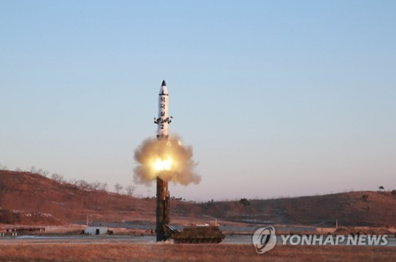 N. Korean Missile Capable of Flying More Than 2,000 Km: Spy Agency