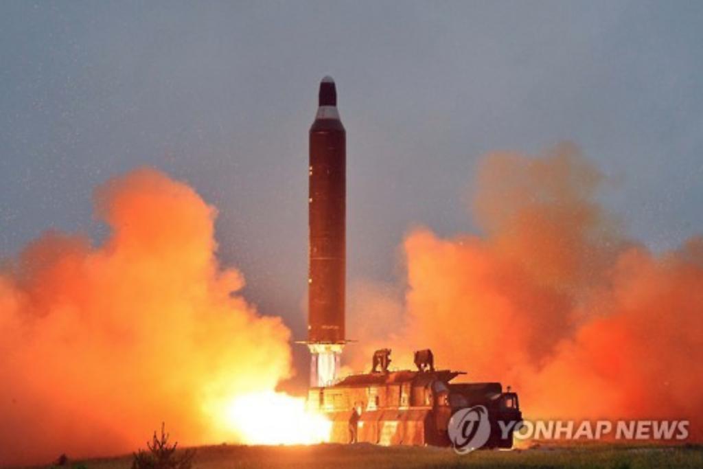 North Korea launched a Hwasong-10 (Musudan) ballistic missile on Jun 22, 2016. (image: Yonhap)