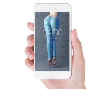Picture of Dream Body as Smartphone Wallpaper Helps Weight Loss