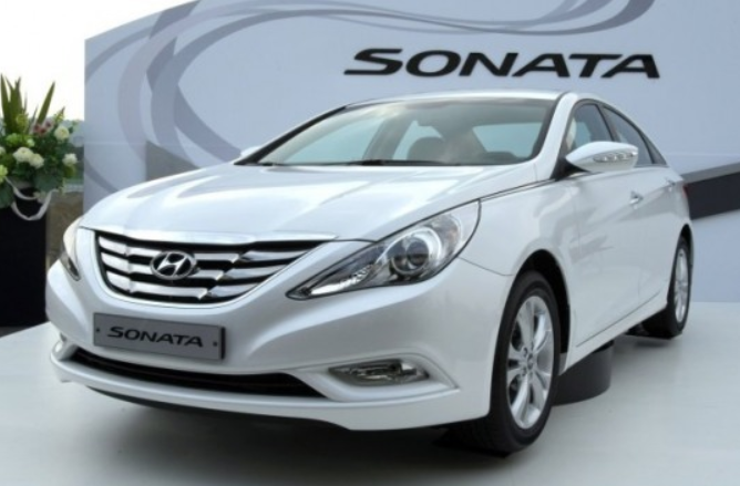 Hyundai Motor's Sonata to be recalled in U.S. due to seatbelt defect. (Image courtesy of Hyundai Motor)